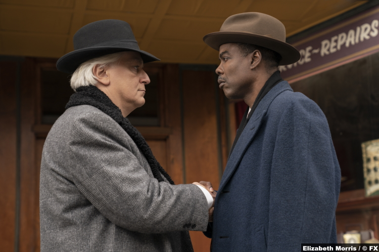 Fargo S04e01 Tommaso Ragno Chris Rock Donatello Fadda Loy Cannon