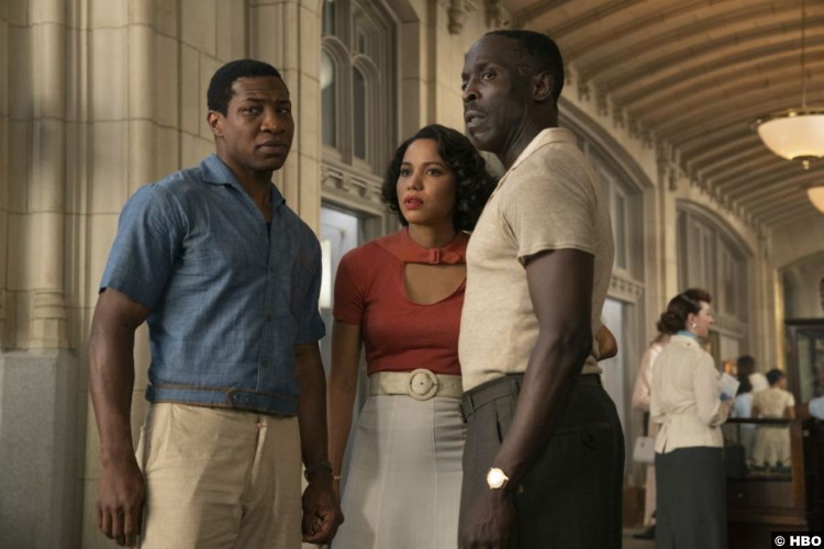 Lovecraft Country S01e04 Jonathan Majors Jurnee Smollett Michael Kenneth Williams Atticus Leti Montrose