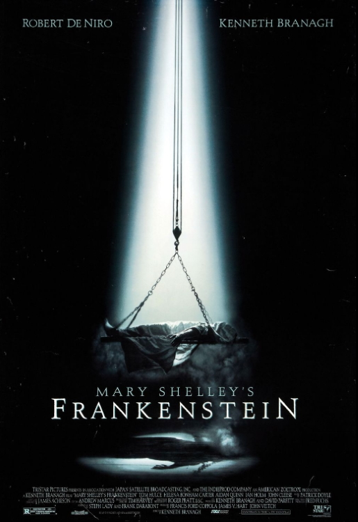Mary Shelleys Frankenstein Poster