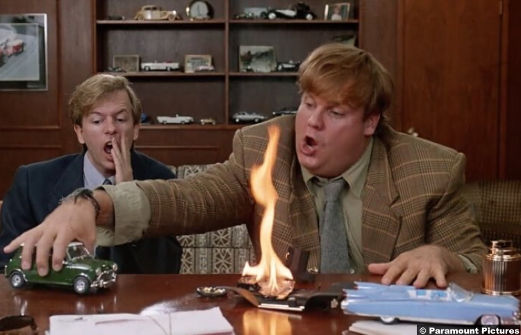 Tommy Boy David Spade Chris Farley