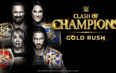 WWE Clash Of Champions Poster 2020