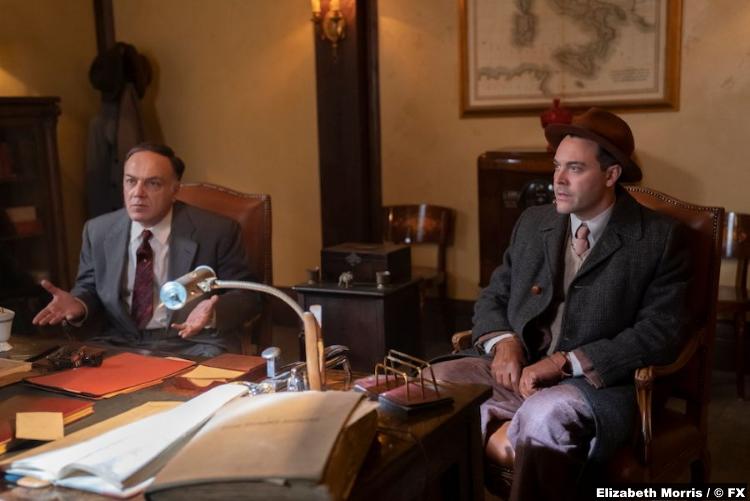 Fargo S04e04 Francesco Acquaroli Jack Huston Ebal Violante Detective Odis Weff