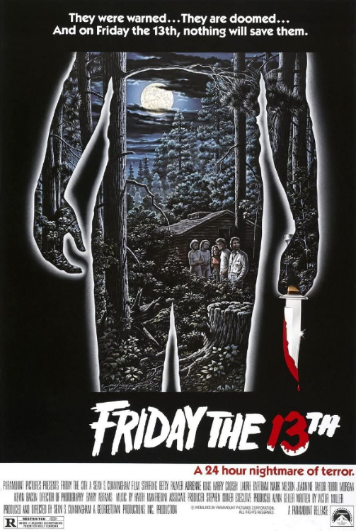 Friday 13th 1980 Movie Poster
