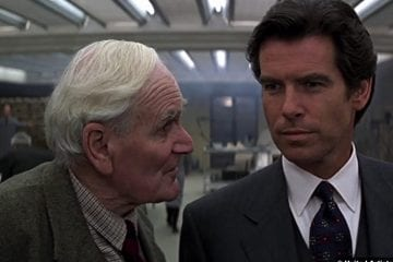 Goldeneye Desmond Llewelyn Pierce Brosnan Q James Bond