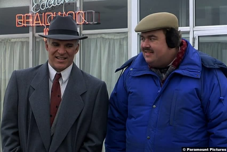 Planes Trains And Automobiles Steve Martin John Candy Neal Page Del Griffith