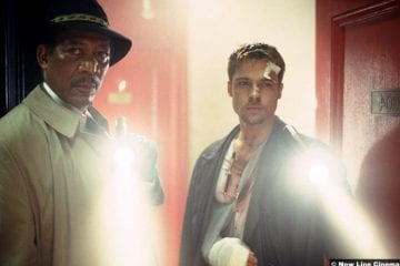 Se7en Morgan Freeman Brad Pitt
