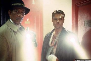 Se7en Morgan Freeman Brad Pitt