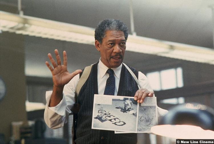 Se7en Morgan Freeman