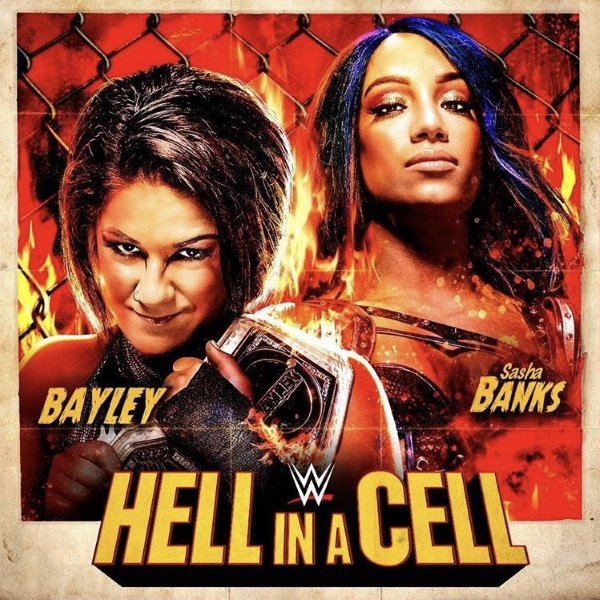Wwe Hell In A Cell Poster 2020