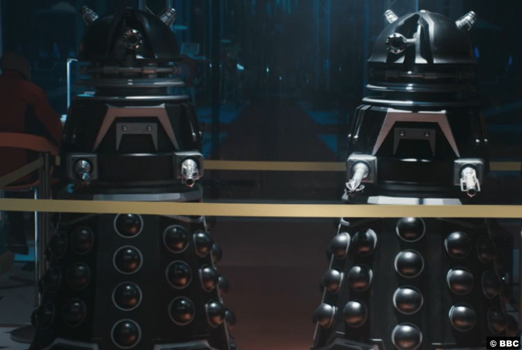 Doctor Who S12e11 2021 Cloned Daleks