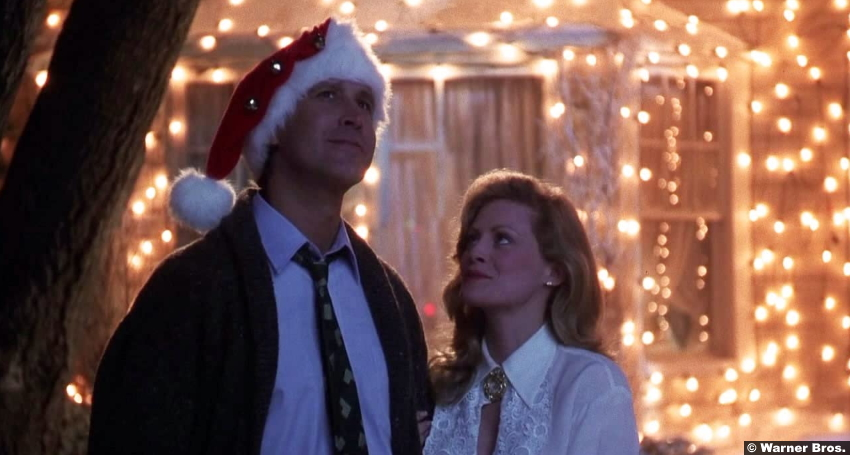 National Lampoons Christmas Vacation Chevy Chase Beverly D'Angelo
