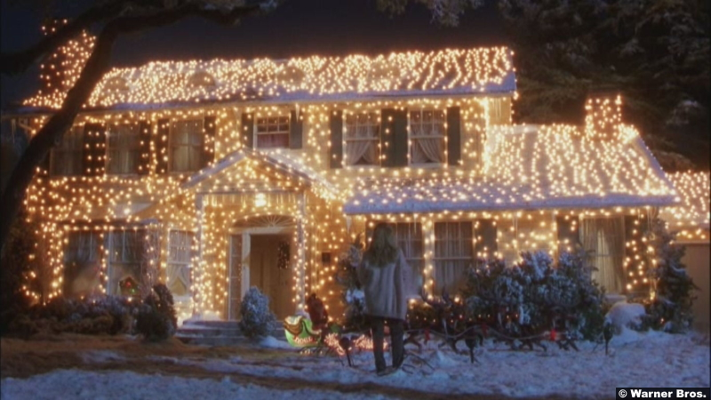 National Lampoons Christmas Vacation House Lights