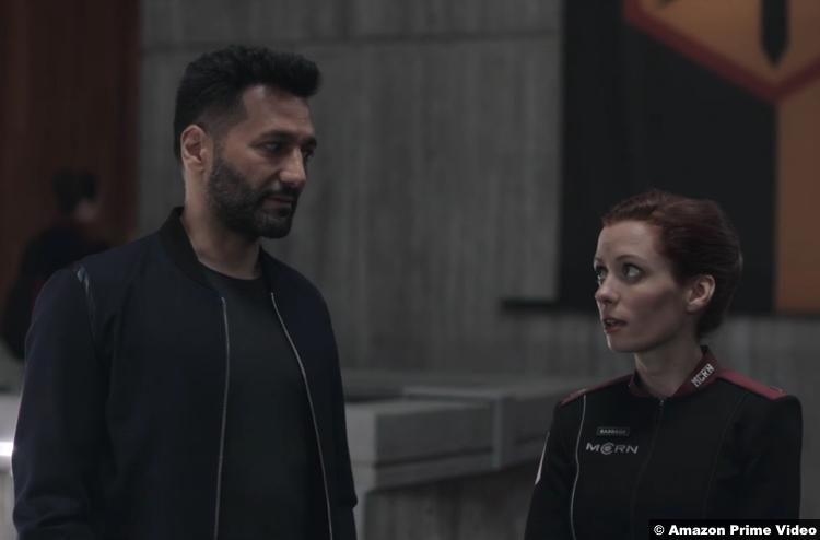 The Expanse S05e02 Cas Anvar Lara Jean Chorostecki Alex Kamal Lt. Babbage