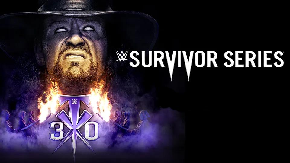 Wwe Survivor Series 2020 Poster