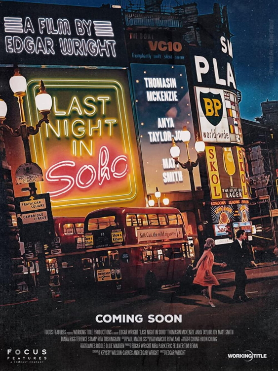 Last Night In Soho Poster