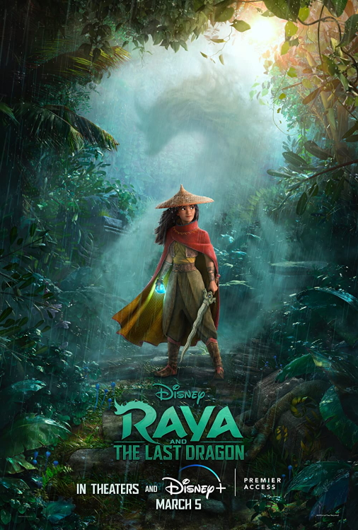 Raya The Last Dragon Poster