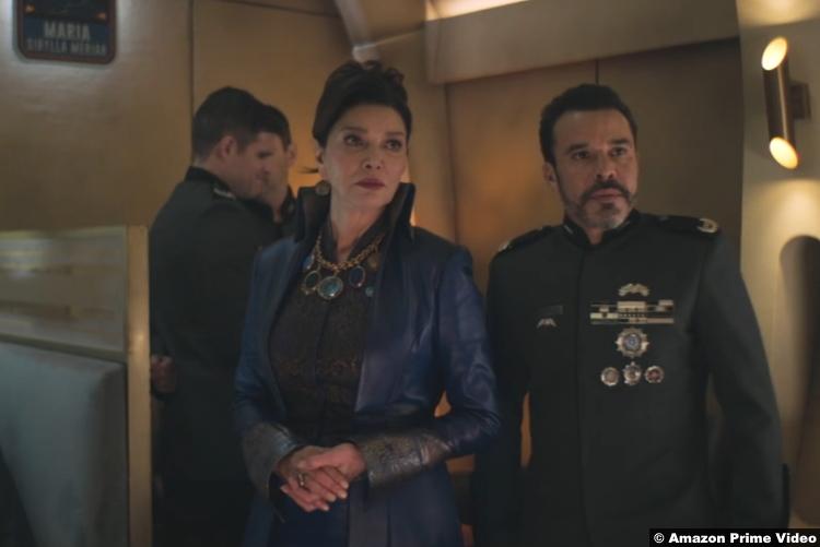 The Expanse S05e04 Shohreh Aghdashloo Michael Irby Chrisjen Avasarala Un Admiral Delgado
