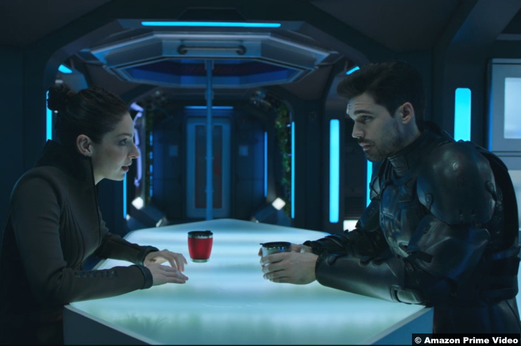 The Expanse S05e07 Anna Hopkins Steven Strait Monica Stuart James Holden