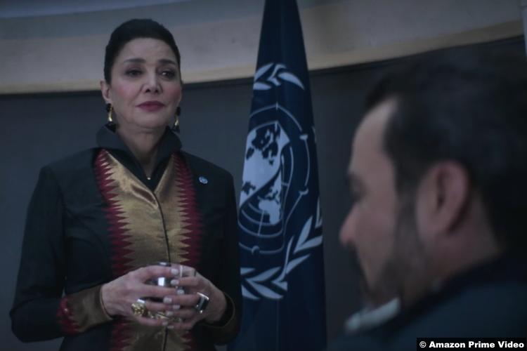 The Expanse S05e09 Shohreh Aghdashloo as Chrisjen Avasarala
