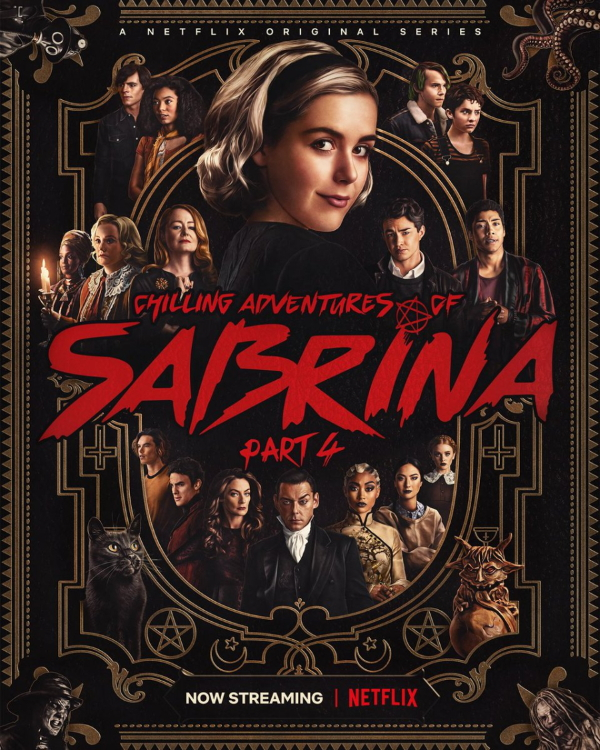 Chilling Adventures Of Sabrina S04 Poster