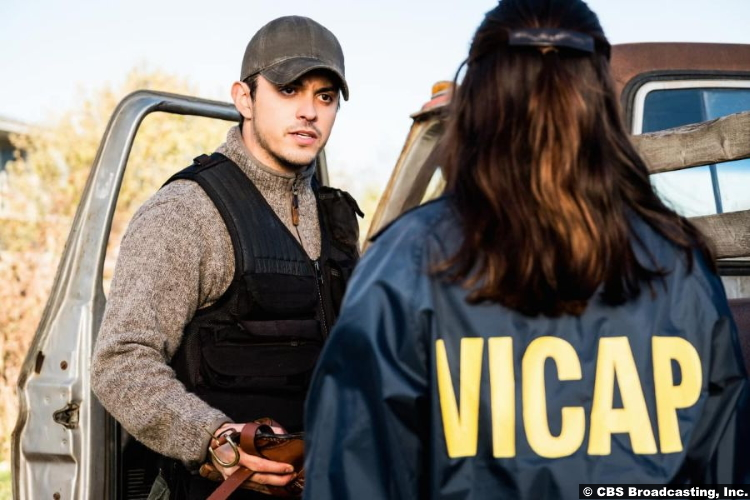 Clarice S01e02 Lucca de Oliveira and Rebecca Breeds as Tomas Esquivel and Clarice Starling