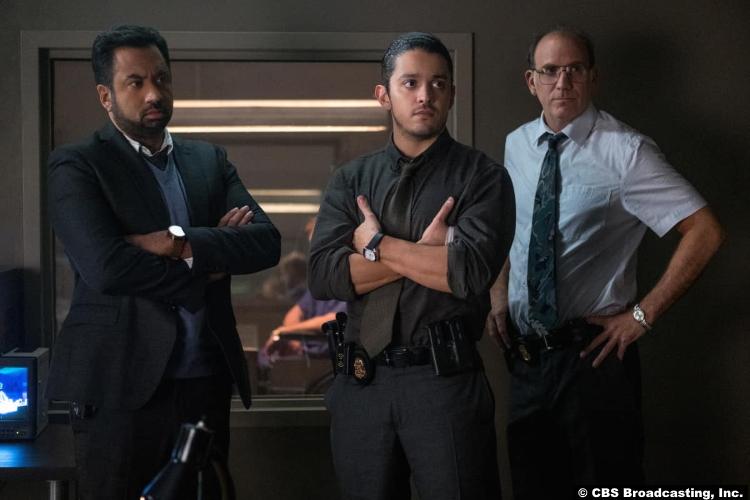 Clarice S01e03 Kal Penn Lucca de Oliveira Nick Sandow as Shaan Tripathi Tomas Esquivel Agent Clarke