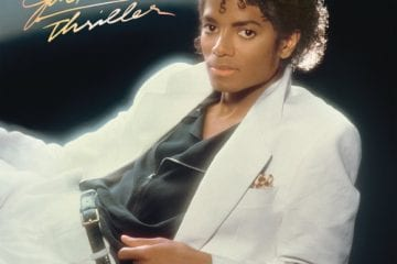 Michael Jackson Thriller Album Cover