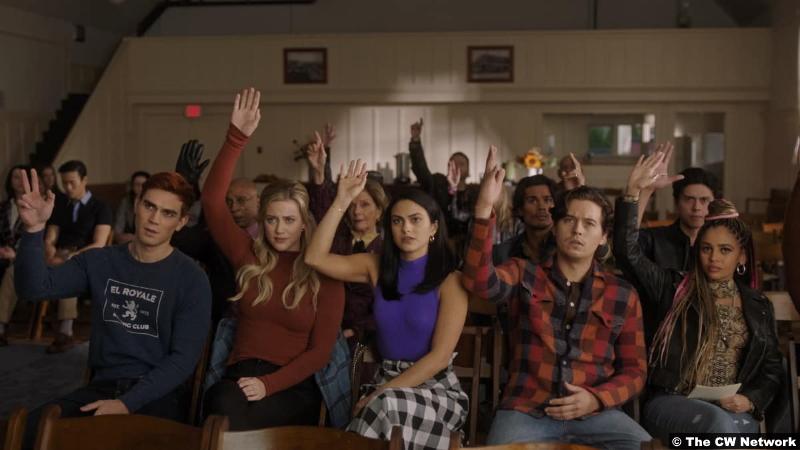 Riverdale S05e05 Group