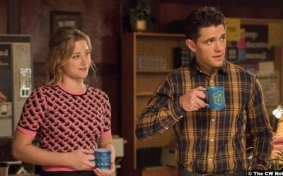 Riverdale S05e06 Lili Reinhart and Casey Cott as Betty Cooper and Kevin Keller