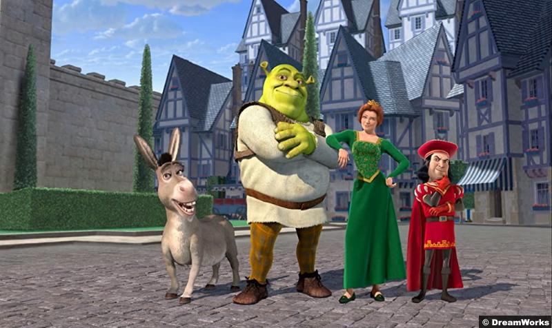 Donkey Shrek Princess Fiona Lord Farquaad