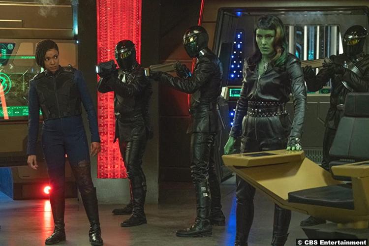 Star Trek Discovery S03e13 Sonequa Martin Green Janet Kidder Michael Burnham Osyraa