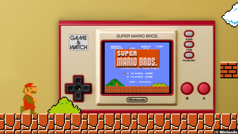 Super Mario Bros. Game And Watch
