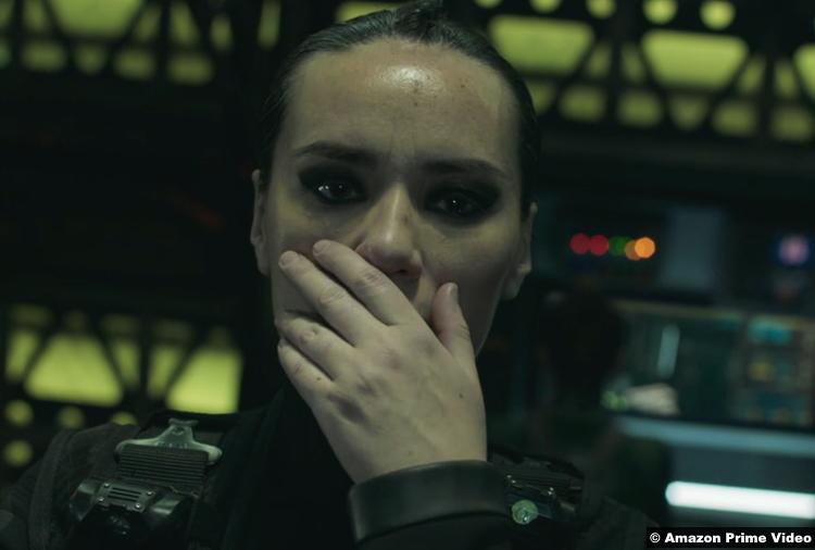 The Expanse S05e10 Cara Gee as Camina Drummer