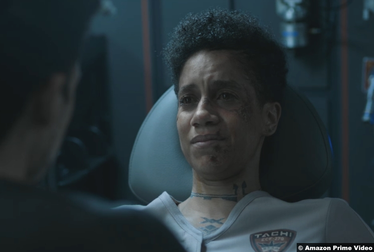 The Expanse S05e10 Dominique Tipper as Naomi Nagata