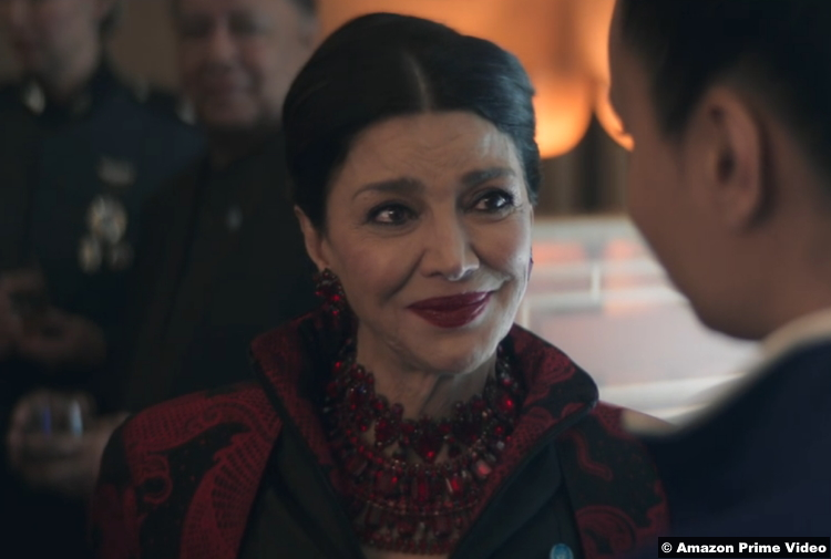 The Expanse S05e10 Shohreh Aghdashloo as Chrisjen Avasarala