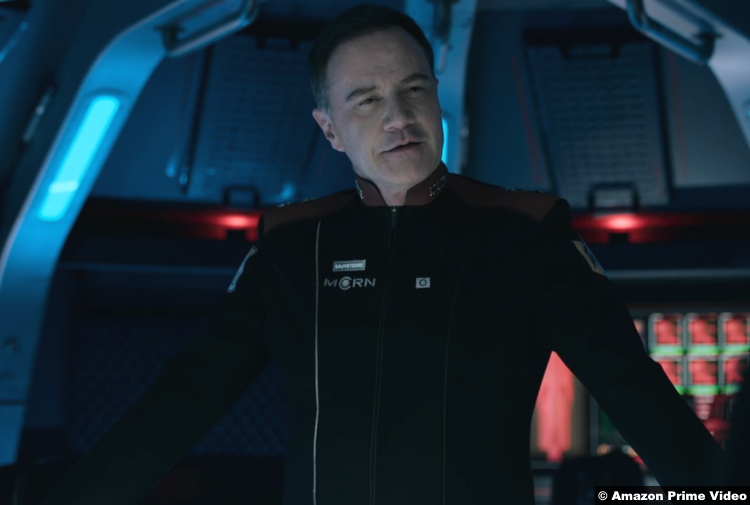 The Expanse S05e10 Tim DeKay as Admiral Sauveterre