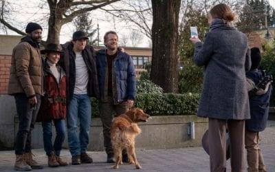 The Stand S01e07 Jovan Adepo Irene Bedard James Marsden Greg Kinnear as Larry Underwood Ray Bentner Stu Redman Glen Bateman