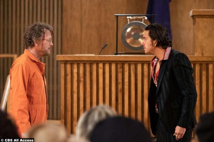 The Stand S01e08 Greg Kinnear and Nat Wolff as Glen Bateman and Lloyd Henreid