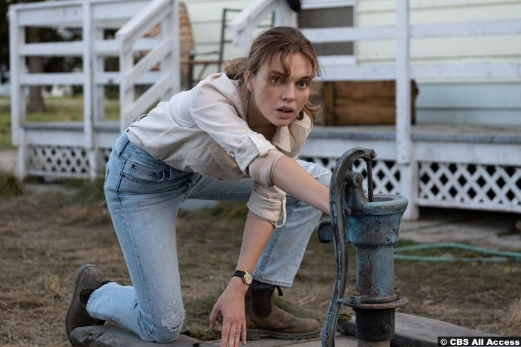 The Stand S01e09 Odessa Young as Frannie Goldsmith