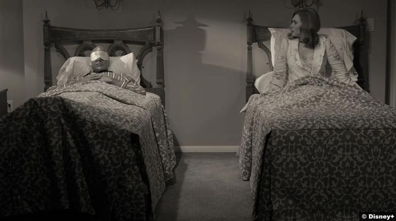 Wandavision S01e02 Paul Bettany Elizabeth Olsen Vision Scarlet Witch