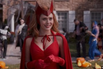 Wandavision S01e06 Elizabeth Olsen as Wanda Maximoff aka Scarlet Witch