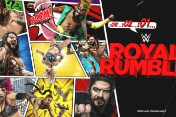 Wwe Royal Rumble 2021 Poster