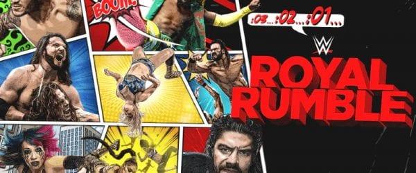 Wwe Royal Rumble 2021 Poster