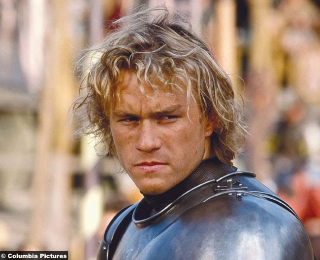 A Knight's Tale Heath Ledger