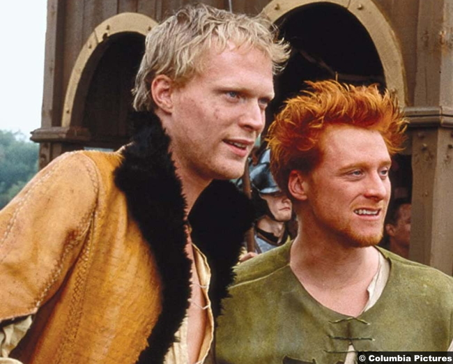 A Knight's Tale Paul Bettany and Alan Tudyk