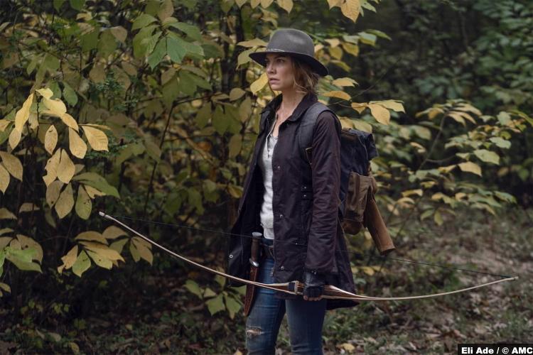 The Walking Dead S10e17 Lauren Cohan as Maggie