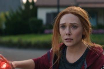 Wandavision S01e09 Elizabeth Olsen as Wanda Maximoff aka Scarlet Witch