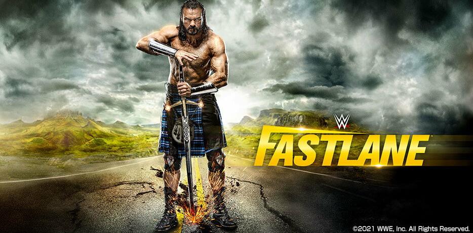 WWE Fastlane 2021 Poster