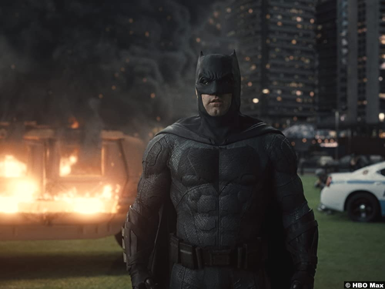 Zack Synder's Justice League Ben Affleck as Batman