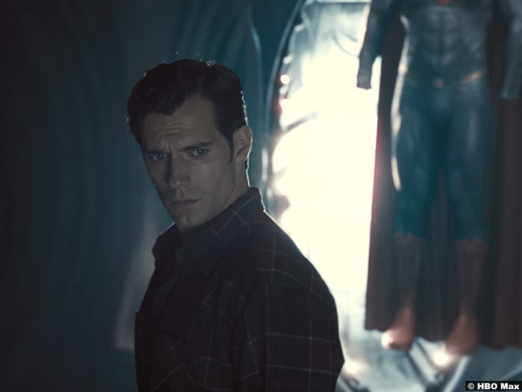 Zack Synder's Justice League Henry Cavill as Clark Kent aka Superman